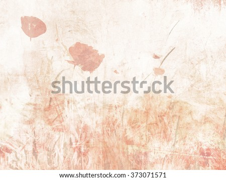 Flower background watercolor - soft floral texture in pastel colors