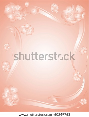 Flower border paper stock illustration 60249763 shutterstock flower border paper mightylinksfo