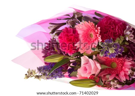 Flower bouquet - stock photo