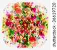 Flower Bouquet Art Abstract - stock photo