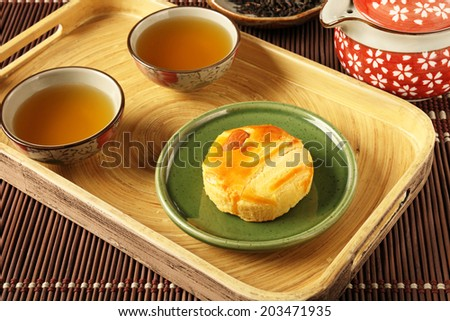 Flower cake is Yunnan classic snacks on behalf of. - stock photo