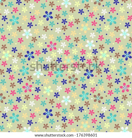 Flower color pattern  - stock photo