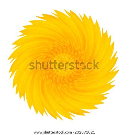 flower colour effect - stock photo