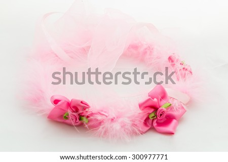 Flower Crown Isolated on White