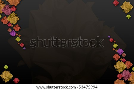 Flower harmony - stock photo