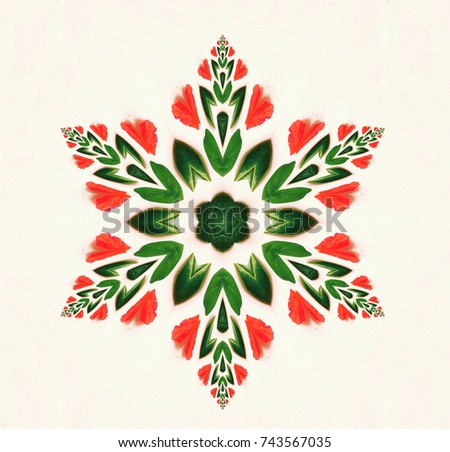 Mandala Plants Stock Images Royalty Free Images Amp Vectors