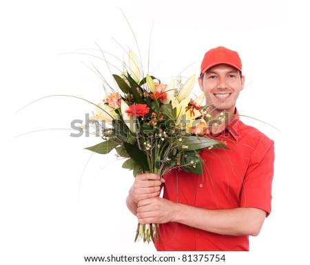 flower service - stock photo
