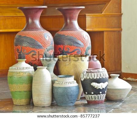 flower vase - stock photo
