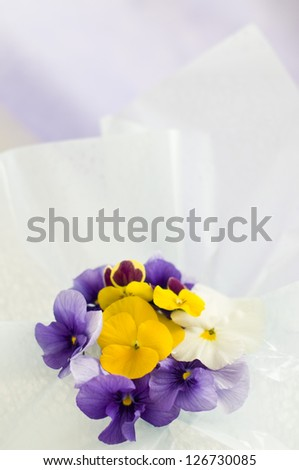 Flowers for the table - stock photo