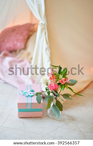 Flowers Vase Boxes Stock Photo 392566357 Shutterstock
