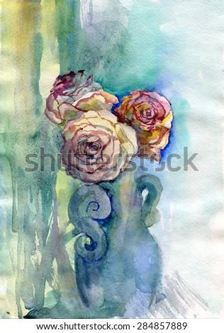Flowers nature, botany,  - stock photo