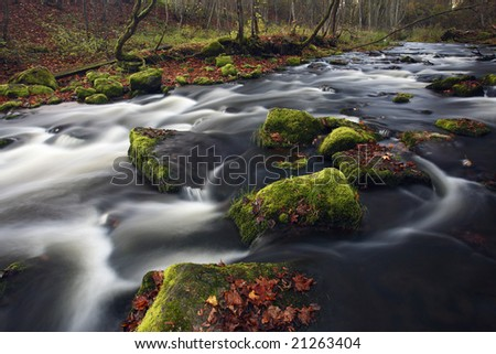 Flowing - stock photo