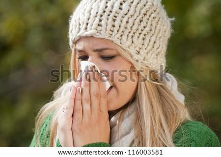 Flu - stock photo