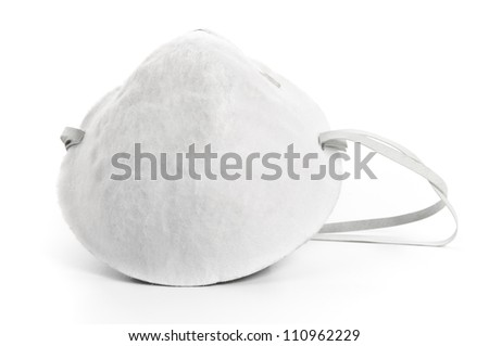 Flu Mask - stock photo