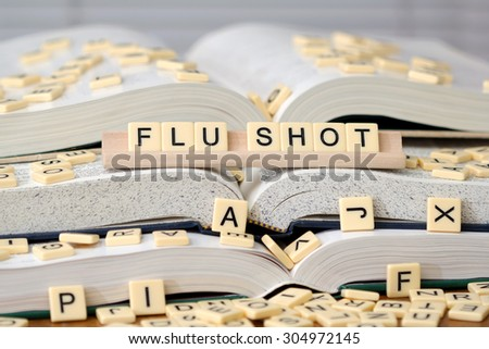 Flu Shot - stock photo