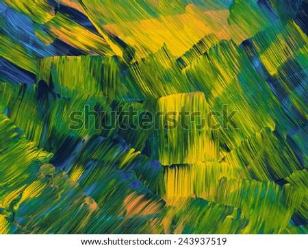 Fluorescent Green - stock photo
