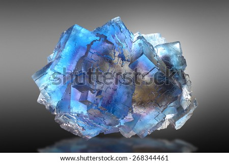 Fluorite from Illinois.  - stock photo