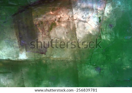 fluorite mineral background - stock photo
