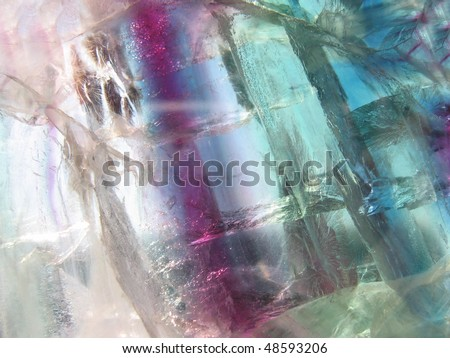 Fluorite surface - stock photo