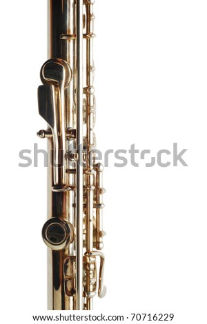 flute detail - stock photo