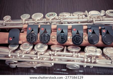 flutes - stock photo