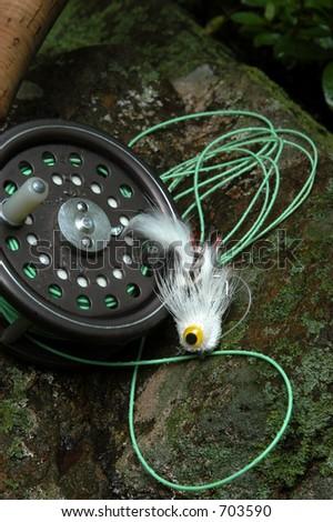 Fly Fishing IV - stock photo