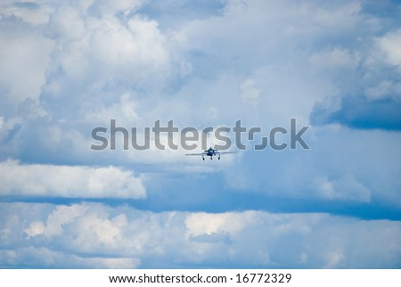fly in stratosphere - stock photo