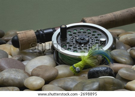 Flyfishing Tackle No1 - stock photo