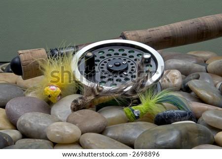 Flyfishing Tackle No2 - stock photo