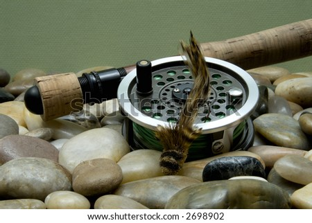 Flyfishing Tackle No7 - stock photo