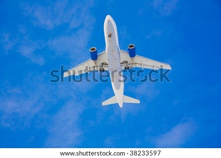 flying over - stock photo
