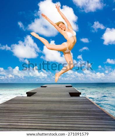 Flying Wild Under the Sun  - stock photo