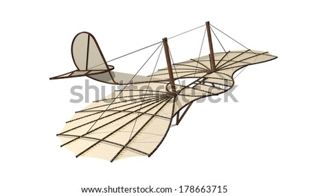 Flying Wing - stock photo