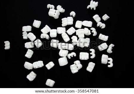 Foam - stock photo