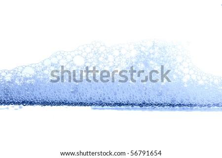 foam background - stock photo