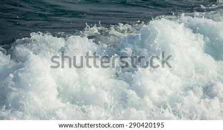 Foam of the sea