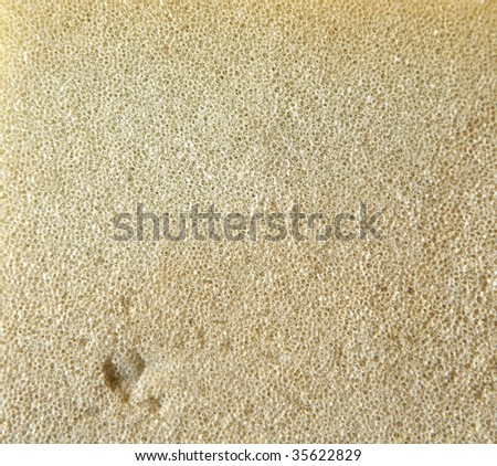 foam rubber background - stock photo