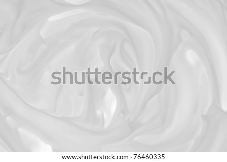Foam white - stock photo