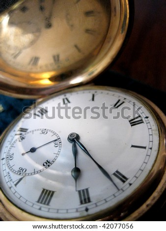 fob watch - stock photo