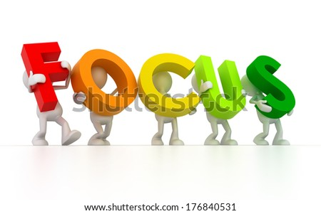 Focus - stock photo