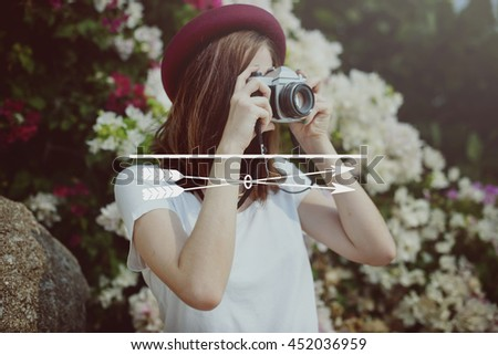 Focus Clarity Concentrate Goals Mission Target Concept - stock photo