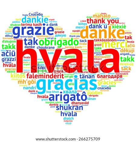 Hvala Stock Images Royalty Free Images Vectors