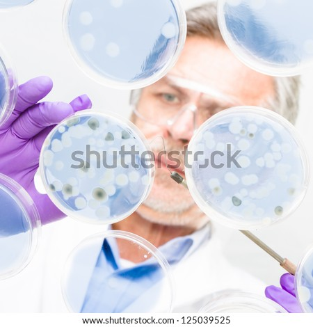 Bacteria cell stock photos illustrations and vector art