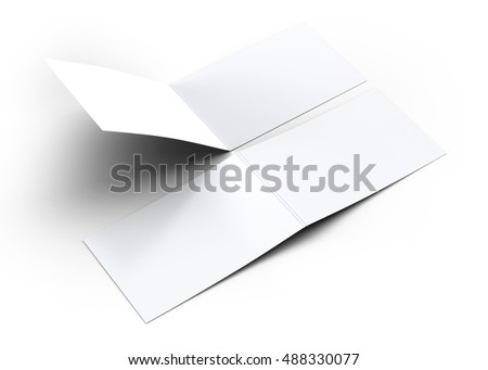 Folded business card mockup 3 d illustration stock illustration folded business card mockup 3d illustration reheart Gallery