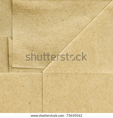 Folded paper background,texture - stock photo