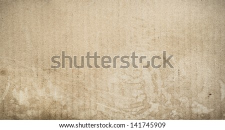 folded paper texture background Coffee or tea stains on - stock photo