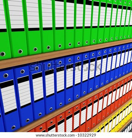 folder archive - stock photo