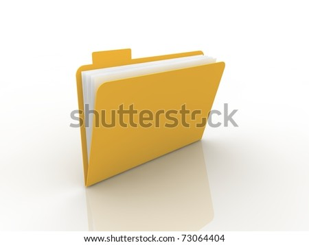 Folder concept - stock photo