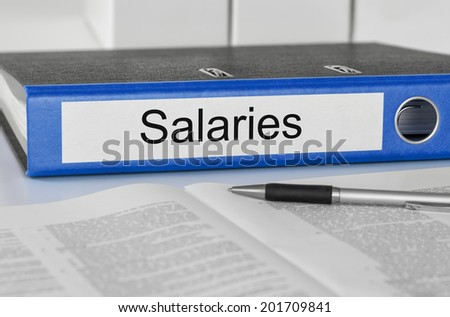Folder with the label Salaries