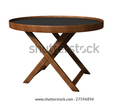 folding table, know-how - stock photo